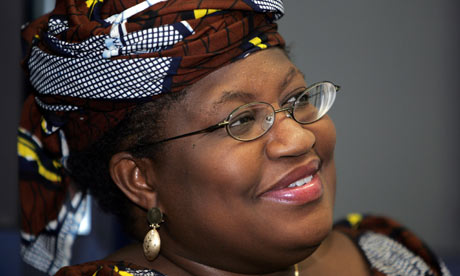 Finance minister, Okonjo Iweala
