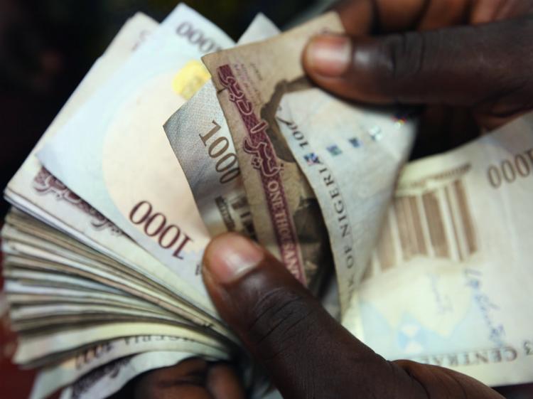1,000 Naira Notes