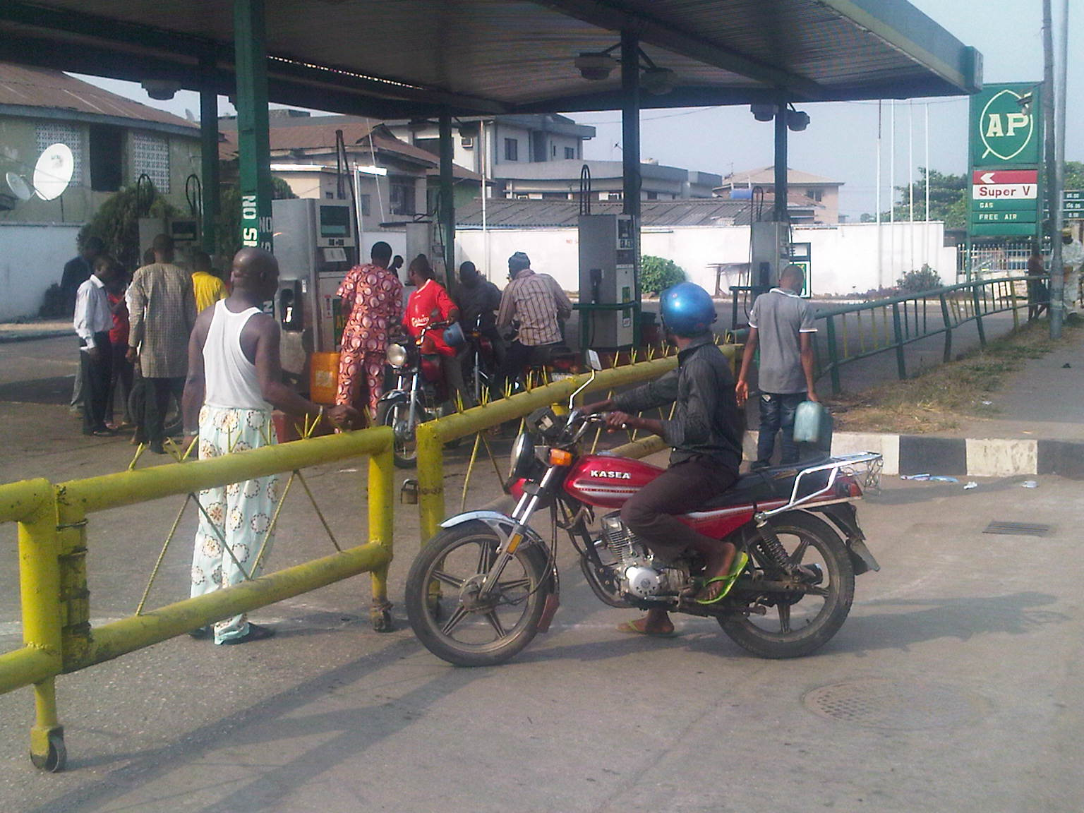 fuel subsidy is gone