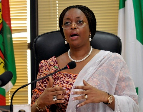 Nigeria&#039;s Minister of Petroleum Diezani Allison-Madueke speaks at a media briefing on a new gas price regime in the capital of Abuja May 27, 2010.Nigeria&#039;s state power company will pay energy companies, such as Royal Dutch Shell and ExxonMobil more for their gas to encourage investment and boost supply capacity, the oil minister said on Thursday.REUTERS/Afolabi Sotunde (NIGERIA - Tags: POLITICS ENERGY)