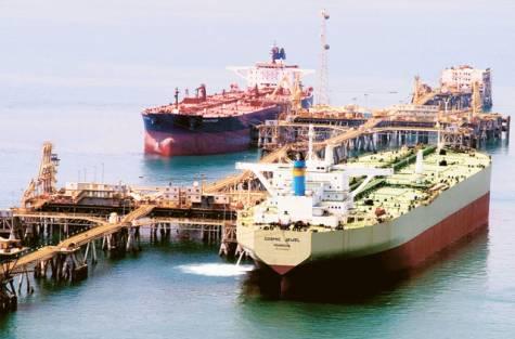crude export terminal