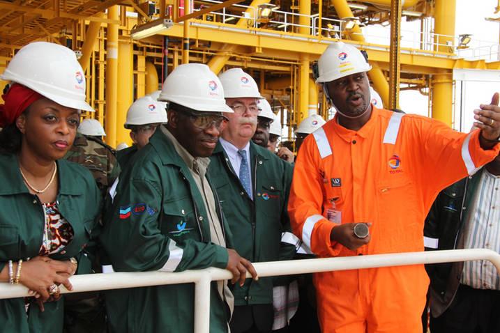 President Goodluck Jonathan and Oil Minister, Diezani Madueke