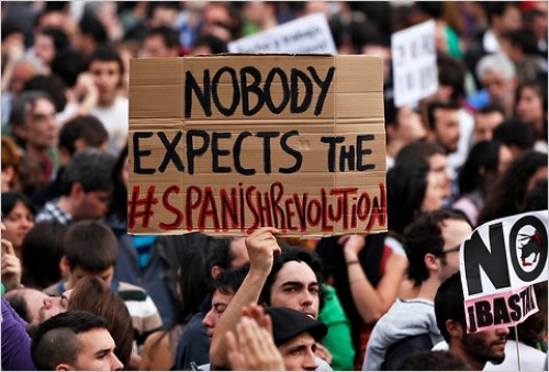 Spanish Austerity Protests