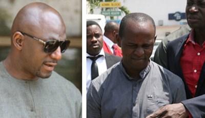 Seun Ogunbanbo and Habila Theck