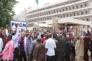 PHCN Employees Protest