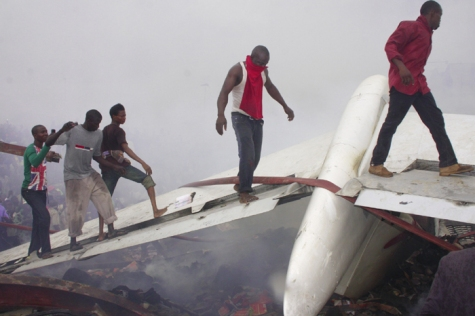 Dana Air MD-80 Plane Wreckage