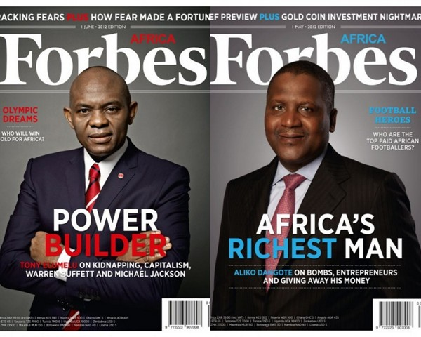 Forbes Africa 2012 Nominees