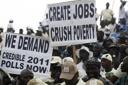 unemployment in nigeria 2012