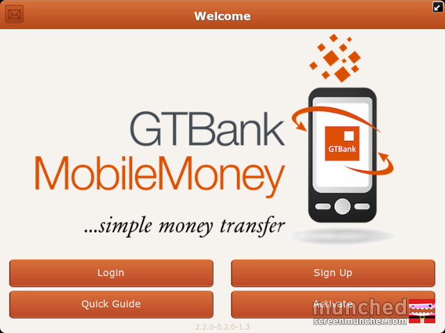 GTBank Mobile Money Application