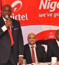 AIRTEL CEO SEGUN OGUNSANYA WITH COO DEEPAK SRIVATSAVA AND CHIEF SALES OFFICER INUSA BELLO