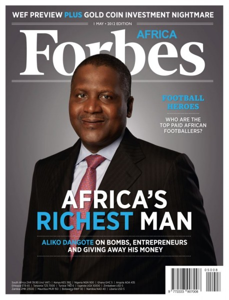 Forbes declares Aliko Dangote first African to hit $20 Billion ...