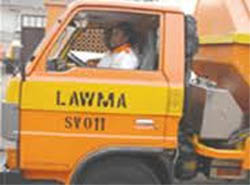 LAWMA vehicle