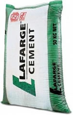 Lafarge cement bag