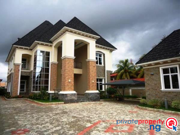 House of the week an amazing 5 bedroom house in maitama for Houses in abuja nigeria