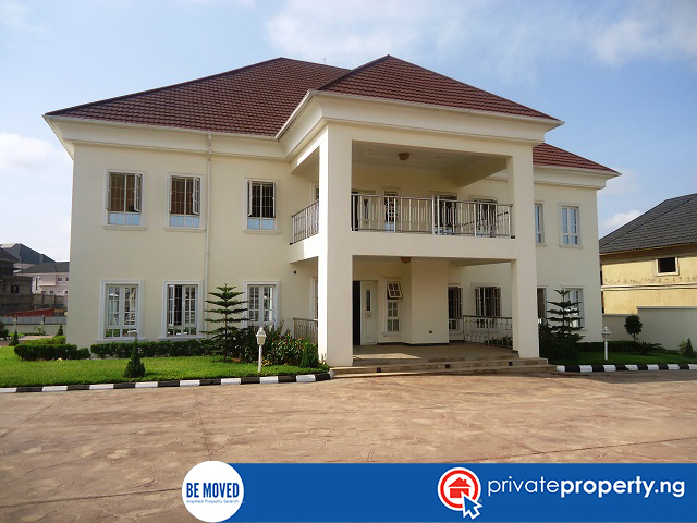 This week our featured house is a tastefully finished 7 bedroom house for sale at asokoro abuja