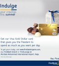 Dollar Card Gold - Instagram